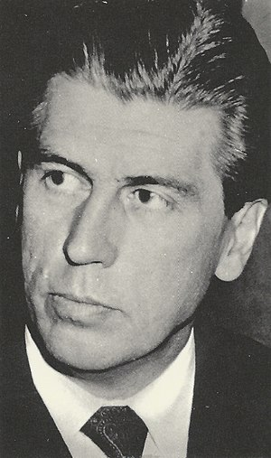 Lujo Tončić-Sorinj - Tončić-Sorinj in 1960