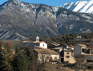 Draix Commune in Provence-Alpes-Côte dAzur, France