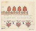 """Drawing, """"Palmettes de Couronnement des orchestres"""", 1833 (CH 18636085).jpg"""