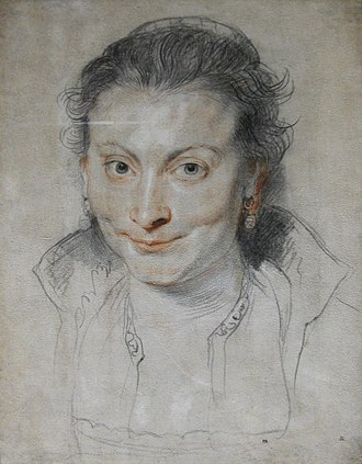Isabella Brant - Image: Drawing of Isabella Brant by Peter Paul Rubens