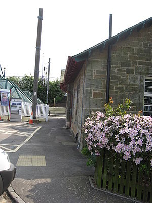 Drem railway station - Image: Drem(3)