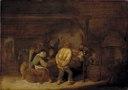 Drinking Peasants (Bartholomeus Molenaer) - Nationalmuseum - 17558.tif