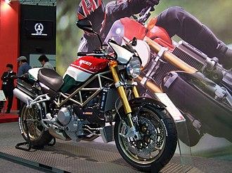 Ducati Monster - Image: Ducati Monster S4R S Tricolore 2008