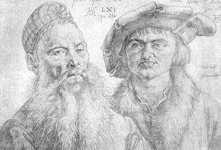 Porträt Paul Topler und Martin Pfinzing