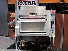 A Burger King broiler cooking unit
