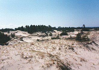 North Manitou Island - North Manitou Island: southern dunes