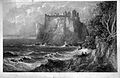 Dunluce Castle engraving by William Miller.jpg