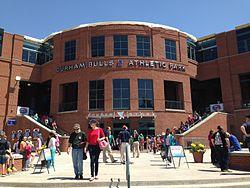 Durham Bulls Athletic Park Durham.JPG