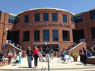 Durham Bulls Athletic Park - Image: Durham Bulls Athletic Park Durham