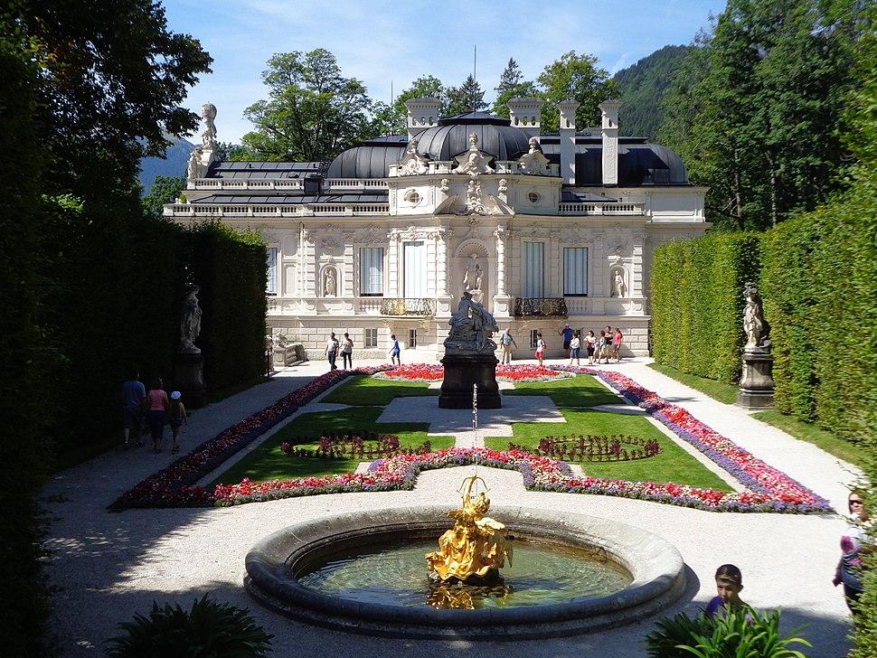 Dvorac Linderhof, Bavarska - istok