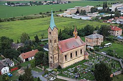 Dvory, Veleliby, church.jpg