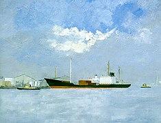 E. Gaston Callens - Havendok 1996.jpg