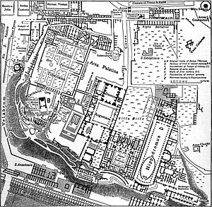 House of Augustus - Plan of the Palatine