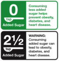 EChO Proposed Added Sugar Front Label for Health Behavioral Study.png