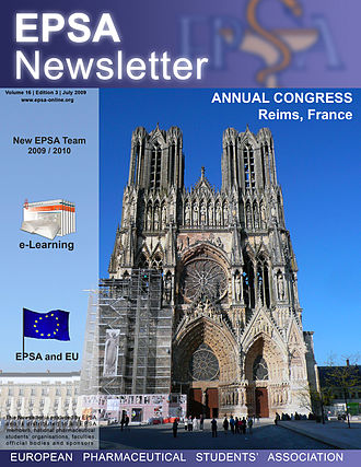 European Pharmaceutical Students' Association - EPSA Newsletter.