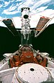 EVA 5 activity on Flight Day 8 to service the Hubble Space Telescope (28120544816).jpg