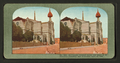 Earthquake wrecked spires and walls of St. Dominic's Cathedral, San Francisco, April 18, 1906, from Robert N. Dennis collection of stereoscopic views.png