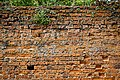 Easton Lodge Gardens, Little Easton, Essex, England ~ walled garden weathered wall.jpg