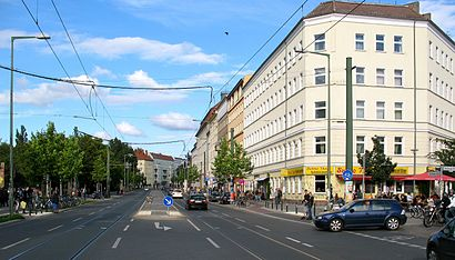 How to get to Eberswalder Straße and Topsstraße with public transit - About the place