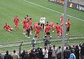 Echauffement Valenciennes FC 2006-2007.jpg