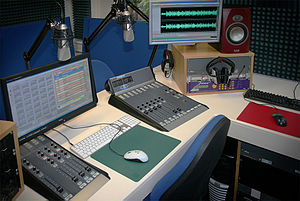 Echo (radio station) - Image: Echo radio studio 1