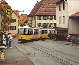 Echterdingen Hirschstraße Tram