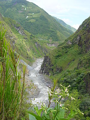 Ecuador Pastazas near Banos