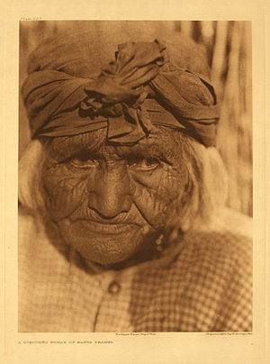 Iipay Nation of Santa Ysabel - Image: Edward S. Curtis Collection People 098