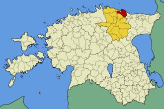 Viru-Nigula Parish - Image: Eesti viru nigula vald
