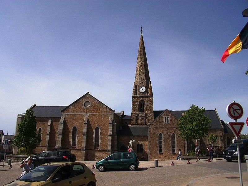 Eglise de Saint-Pair-sur-Mer (50)