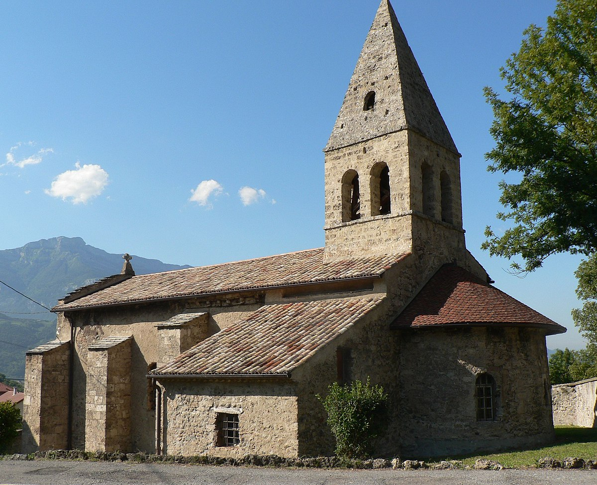 Glise saint georges de saint georges de commiers wikip dia for Maison saint georges de commiers