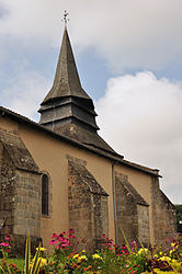 The church of Sainte-Madeleine, in Couzeix