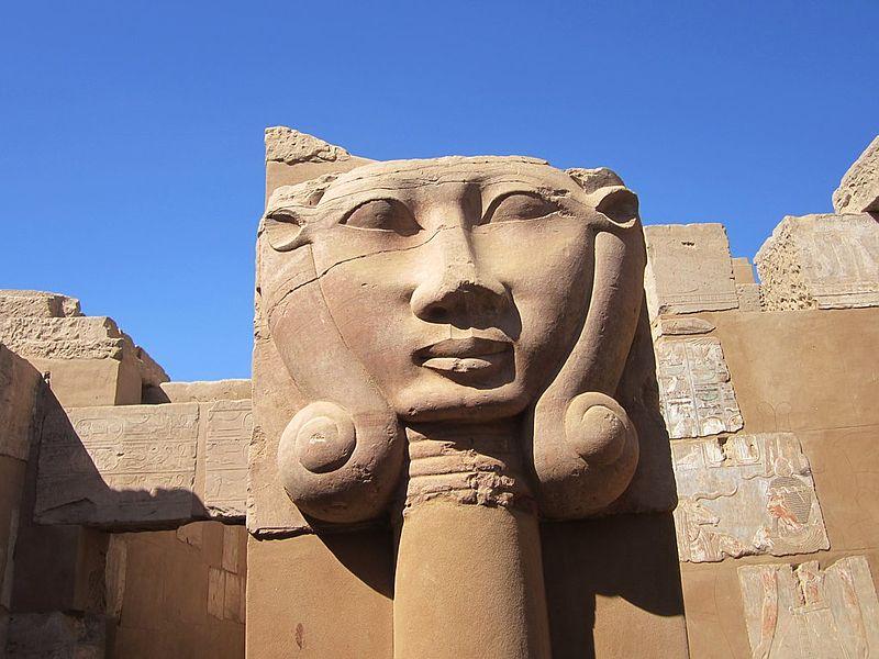 File:Egyptian Goddess Hathor (8612400422).jpg