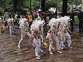 Egyptian mummy samba dancers from União da Roseira at Helsinki Samba Carnaval 2016.jpg