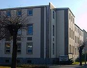 Das 1946 zum Krankenhaus umgebaute Amtsgericht