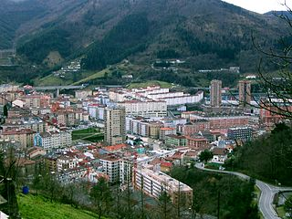 Eibar Municipality in Basque Country, Spain
