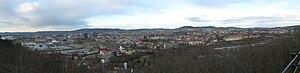 Ekeberg - Image: Ekeberg central oslo panorama