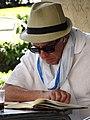 Elderly Man Reading - Palma de Mallorca - Mallorca - Spain (14295289149).jpg