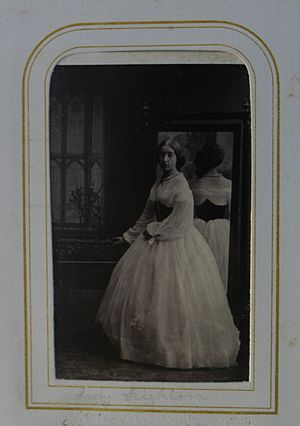 John Warren, 3rd Baron de Tabley - Image: Eleanor, Lady Leighton (1841 1914)