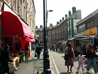 Electric Avenue - Brixton Market in Electric Avenue