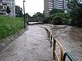 Elfogy a kerékpárút az árvízben^ Eger 2010 junius - panoramio.jpg