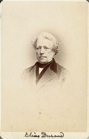 Elias Durand - Elias Durand by Frederick Gutekunst