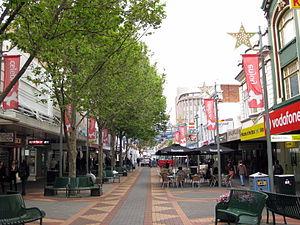 North Hobart, Tasmania - Image: Elizabeth Street Mall November 2010