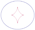 Ellipse with evolute.png
