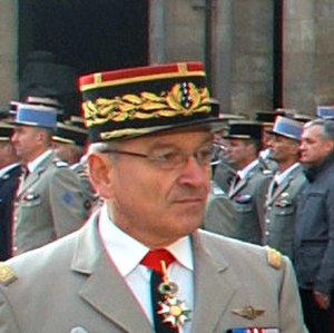 Elrick Irastorza - General Elrick Irastorza, France 12th Chief of Staff of the French Army