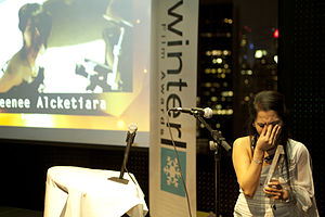 Emma Shah - Ema Shah, winner of BEST MUSIC VIDEO At the Winter Film Awards of 2014 in New York City