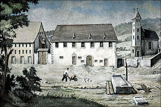 Ábrahám Ganz - Unter-Embrach, Switzerland, the birthplace of Ábrahám Ganz