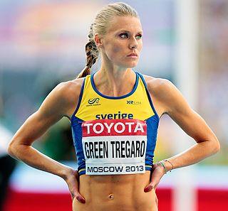 Emma Green (athlete) Swedish high jumper