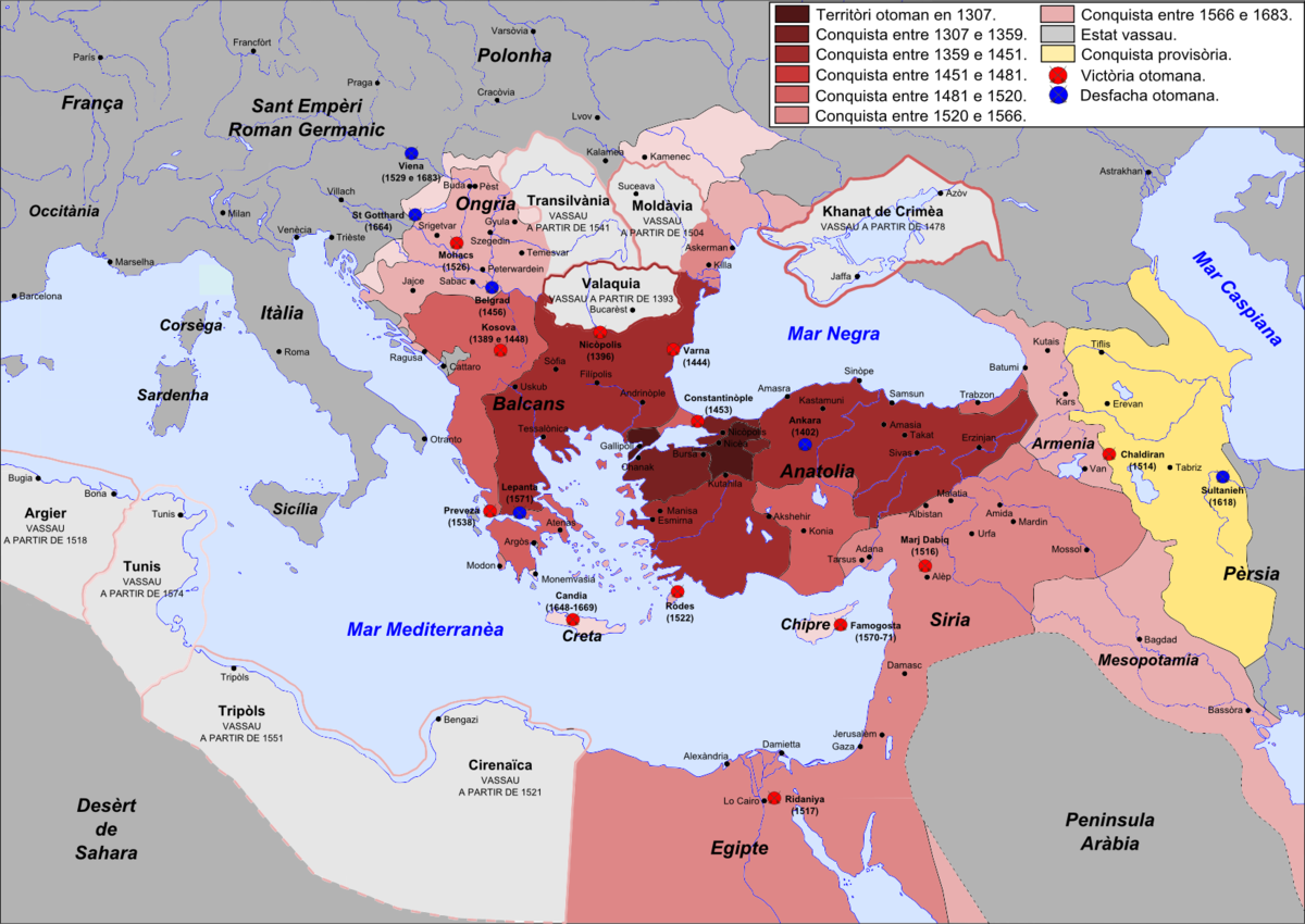 Timeline of the Ottoman Empire - Wikipedia