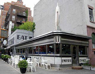 Empire Diner New York City restaurant
